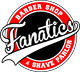 Fanatics Barber Shop & Shave Parlor Logo